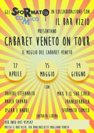 Cabaret Veneto On Tour per il web